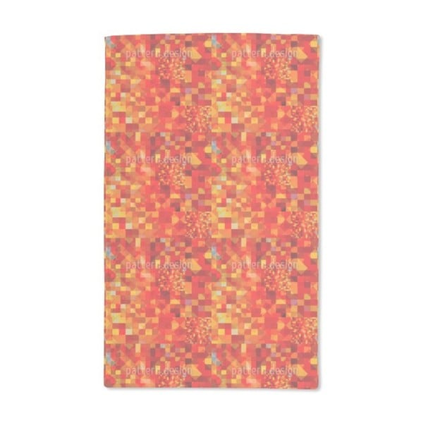 Hot Pixel Pool Hand Towel (Set of 2)