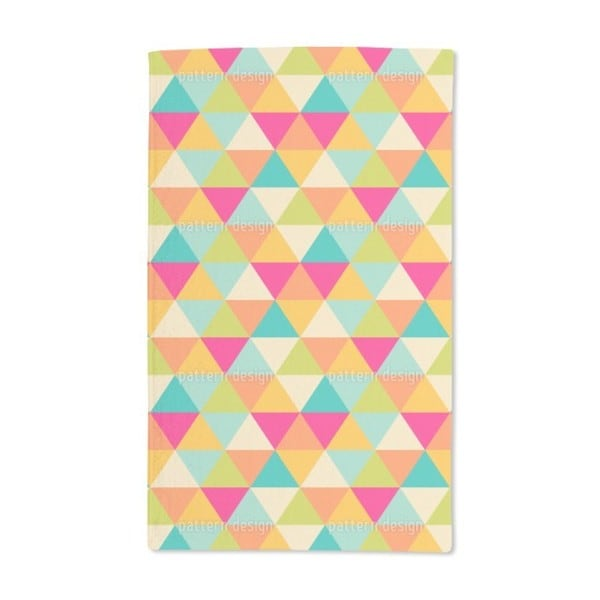Triangles Hand Towel (Set of 2)