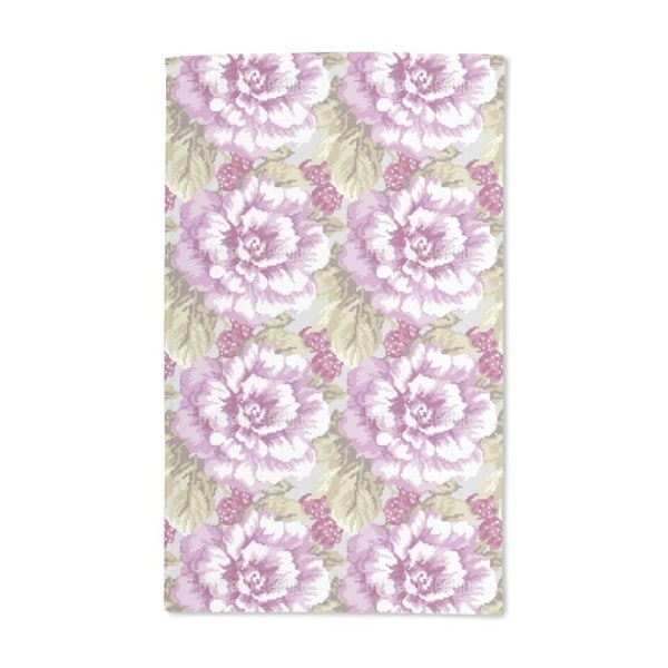 Roses and Raspberries Hand Towel (Set of 2)