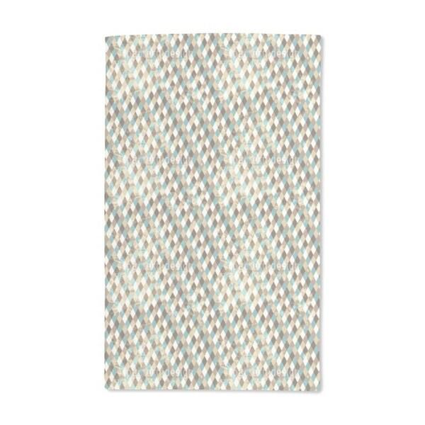 Retro Rhombus Hand Towel (Set of 2)