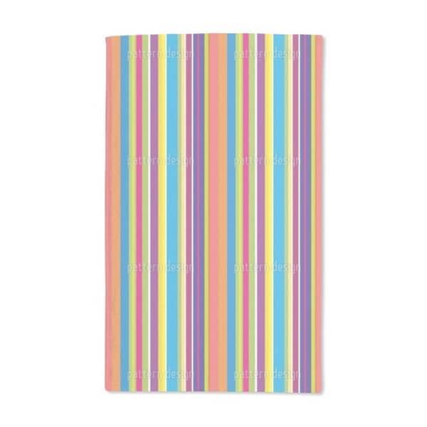 Happy Stripes Hand Towel (Set of 2)