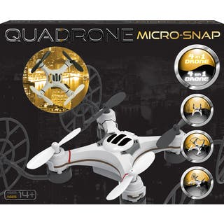 DGL Quadrone Micro-snap White Plastic Drone|https://ak1.ostkcdn.com/images/products/12616322/P19410025.jpg?impolicy=medium