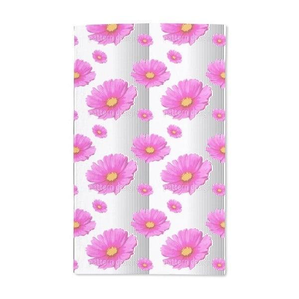 Pink Cosmea Hand Towel (Set of 2)
