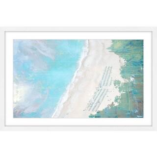 Parvez Taj - 'Coastal Sand' Framed Painting Print