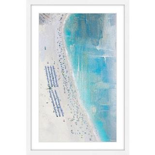 Parvez Taj - 'The Coast' Framed Painting Print