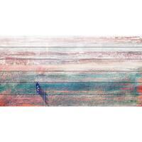 Parvez Taj - 'Sitting Boat' Painting Print on White Wood