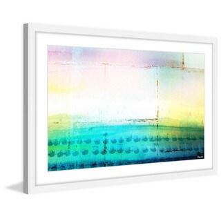 Parvez Taj - 'Beach Light' Framed Painting Print