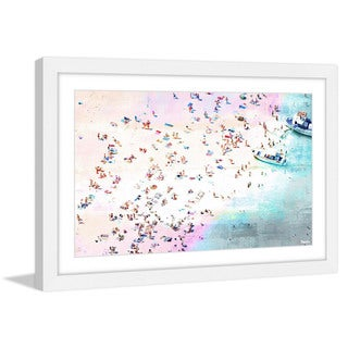 Parvez Taj - 'Fun and Sun' Framed Painting Print