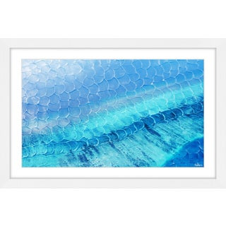 Parvez Taj - 'Blue Pools' Framed Painting Print