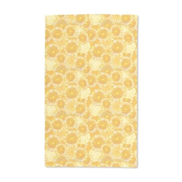 Sunny Blossoms Hand Towel (Set of 2)