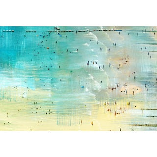 Parvez Taj - 'Specks in the Water' Painting Print on Wrapped Canvas