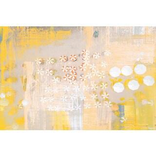 Parvez Taj - 'Candy Umbrellas' Painting Print on Wrapped Canvas