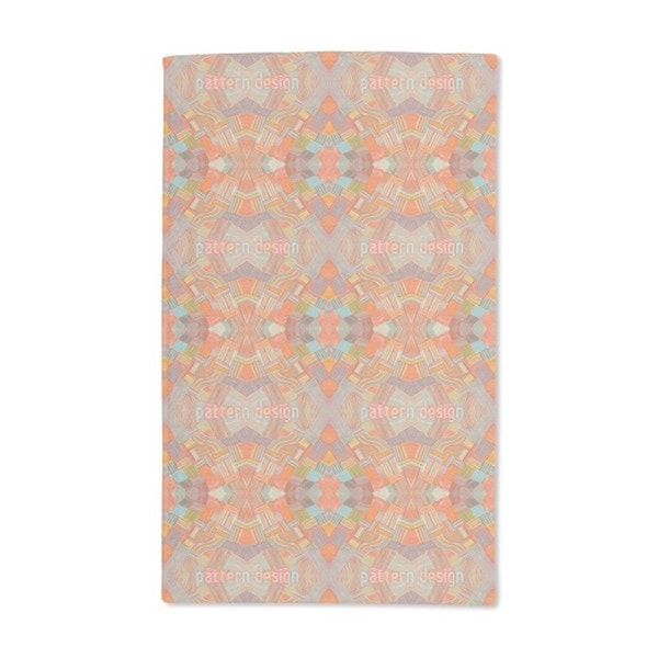 Colorful Network Hand Towel (Set of 2)