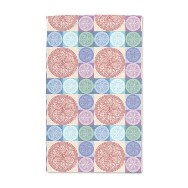 Mandala Patchwork Hand Towel (Set of 2)