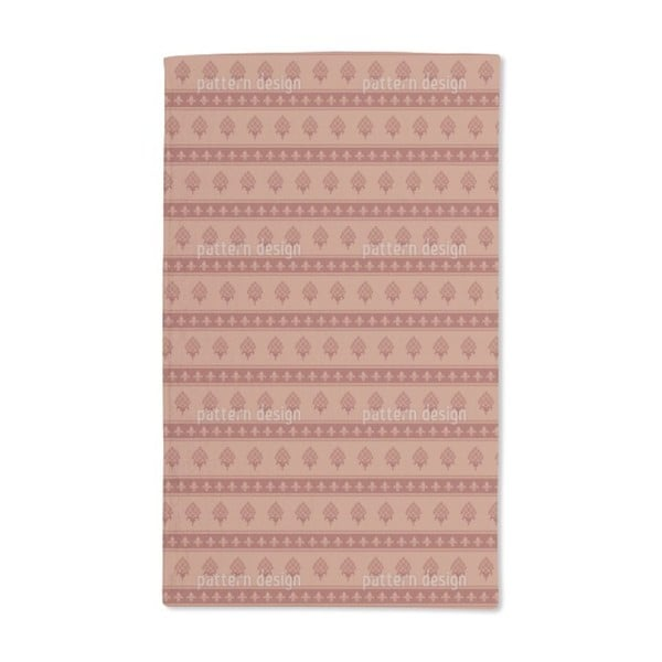 The Bourbon Lily Hand Towel (Set of 2)