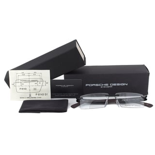 Porsche Design P8143 C Eyeglasses Frames in Black Size 55mm