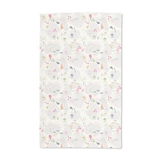 Pinky Planktons Patchwork Hand Towel (Set of 2)