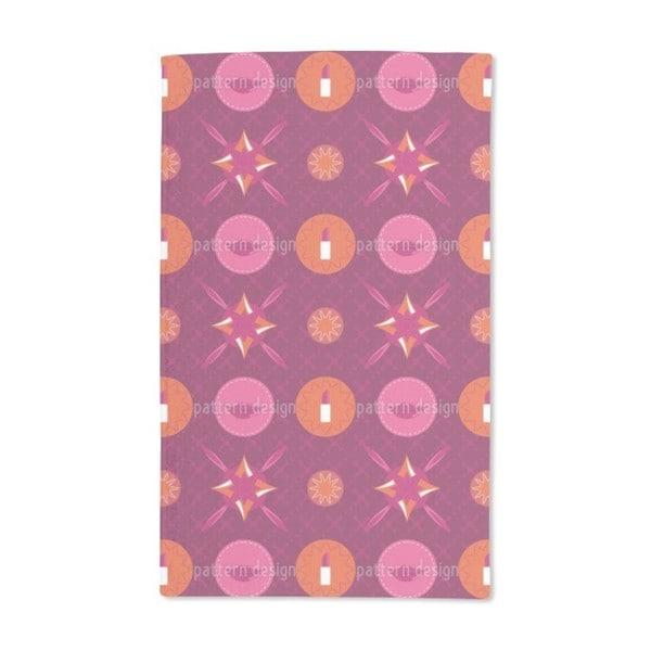 Pink Make Up Box Hand Towel (Set of 2)