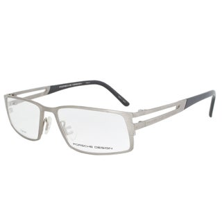 Porsche Design P8155 B Titanium Eyeglasses Frame Gunmetal/Black Size 54mm