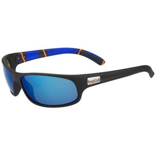 Bolle Anaconda Sunglesses, Matte Black/Stripes