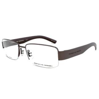 Porsche Design P8203 D Titanium Eyeglasses Frame in Dark Gunmetal/Grey Size 54mm
