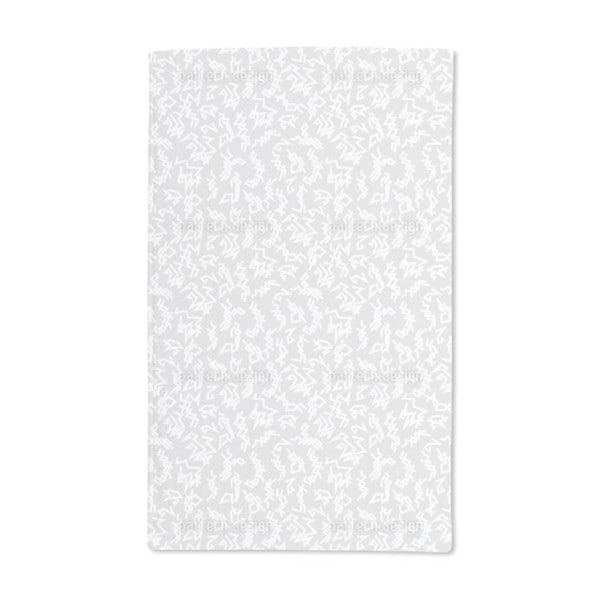 Trigger Grey Hand Towel (Set of 2)