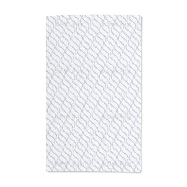 Wavy Dots Grey Hand Towel (Set of 2)