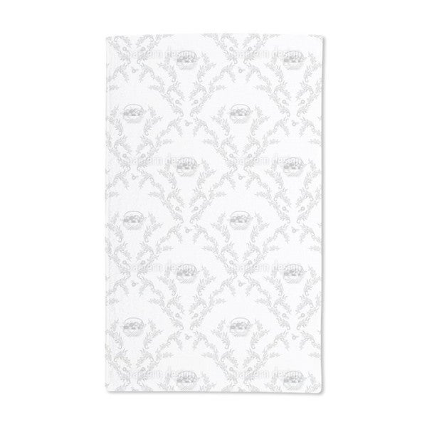 Petit Panier Gris Hand Towel (Set of 2)