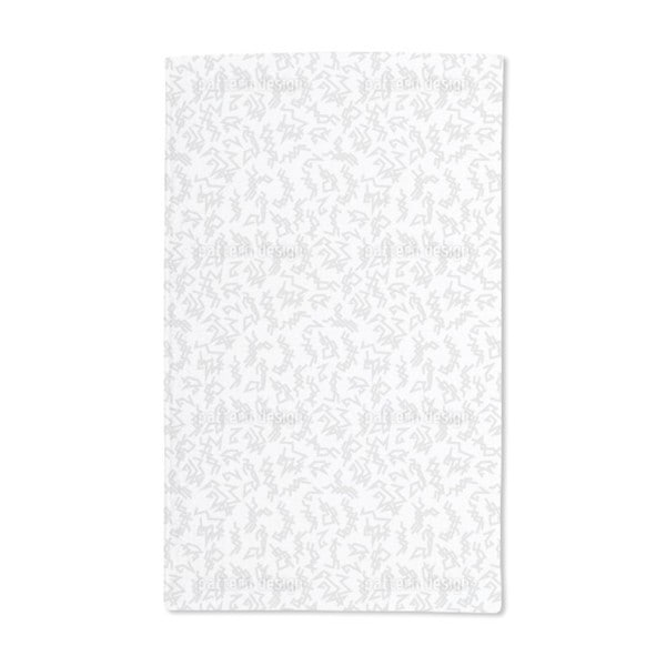 Trigger White Hand Towel (Set of 2)