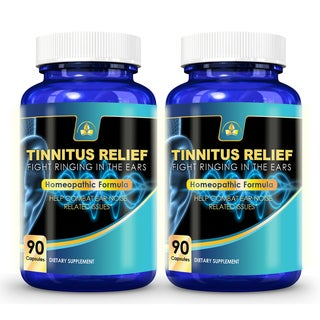Tinnitus Relief Ring Stopper Extra Strength Natural Remedy Supplement