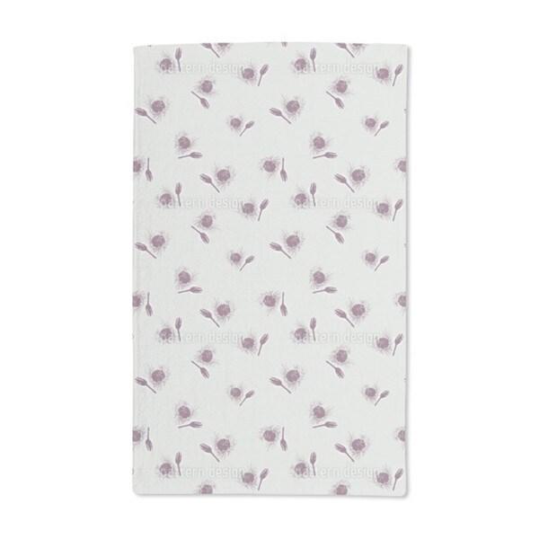 Snow Thistle Hand Towel (Set of 2)
