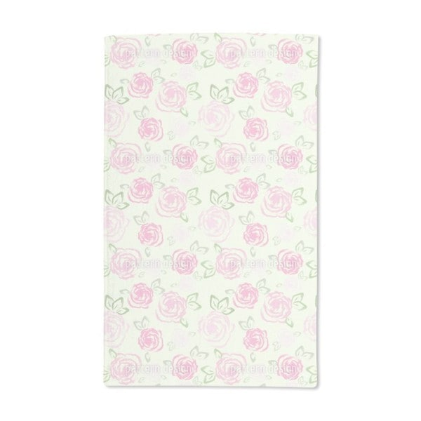 Little Roses Hand Towel (Set of 2)