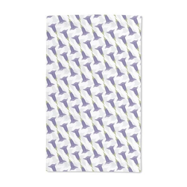 Gentian Shaded Hand Towel (Set of 2)