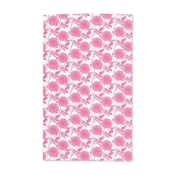 Roses in Full Bloom Hand Towel (Set of 2)