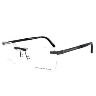 Porsche Design P8252 B Titanium Eyeglasses Frame in Black Size 57mm