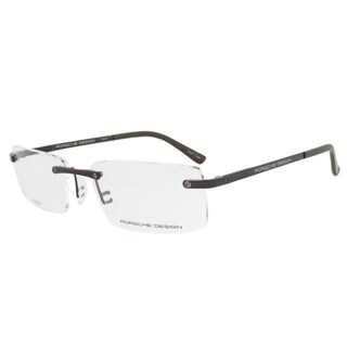 Porsche Design P8238 C Titanium Eyeglasses Frame in Dark Grey Size 56