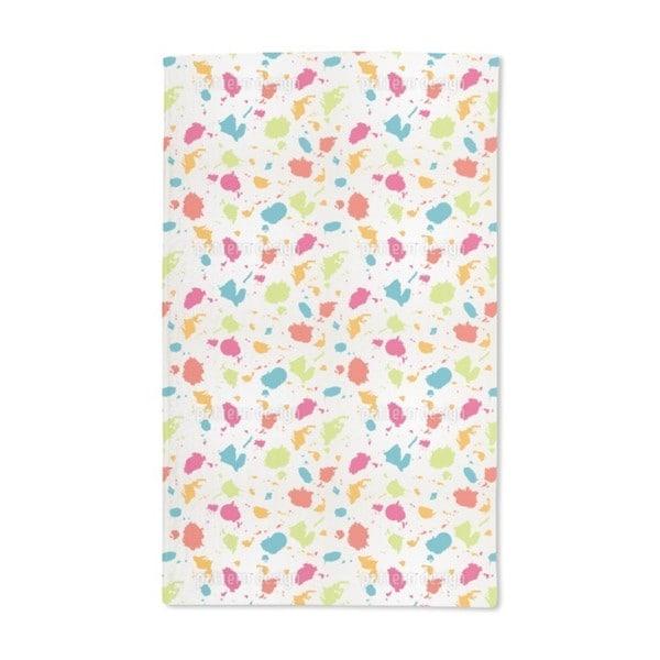 Colorful Blots Hand Towel (Set of 2)