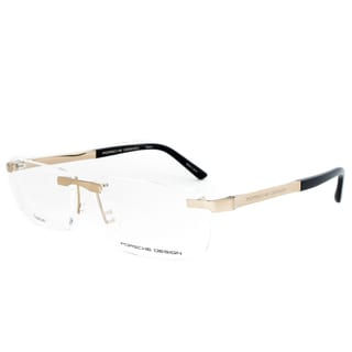 Porsche Design P8252 A Titanium Eyeglasses Frame in Gold/Black Size 56mm
