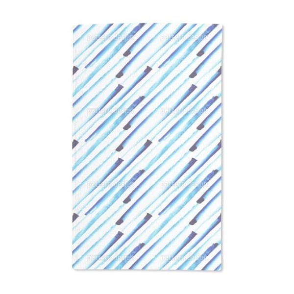 It Is Raining Water Colors Hand Towel (Set of 2)