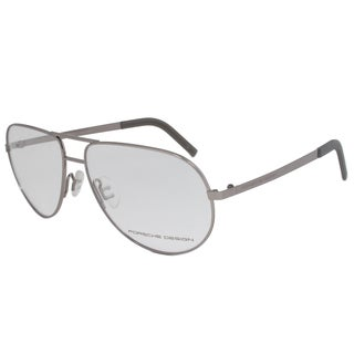 Porsche Design P8280 B Eyeglasses Frame in Gunmetal Grey Size 59mm