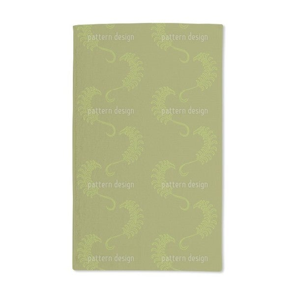 Dolce Farniente Green Hand Towel (Set of 2)