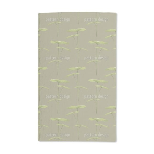 Rain Forest Impression Hand Towel (Set of 2)