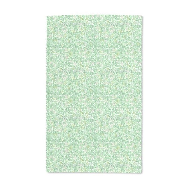 Covered With Leaves Hand Towel (Set of 2)