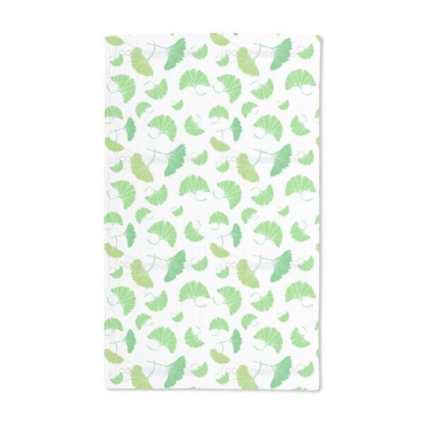 Ginkgo Leaves Hand Towel (Set of 2)