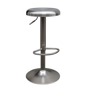 Urban Port Stainless Steel High-end Adjustable Bar Stool