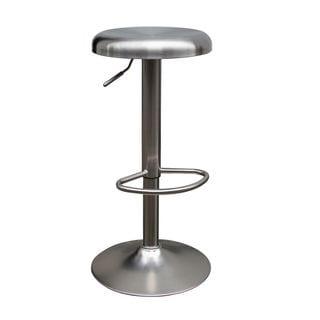 Urban Port Stainless Steel High-end Adjustable Bar Stool