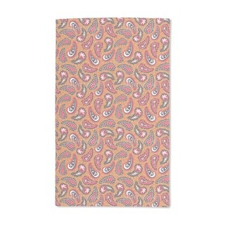 Classy Paisley Design Hand Towel (Set of 2)