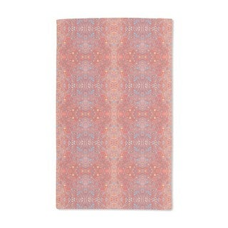 Stained Red Hand Towel (Set of 2)
