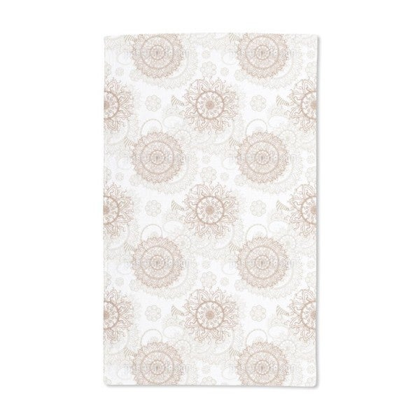 Oriental Mandala Hand Towel (Set of 2)