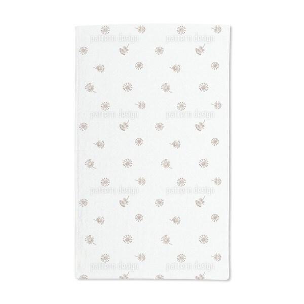 Dandelion Brown Hand Towel (Set of 2)